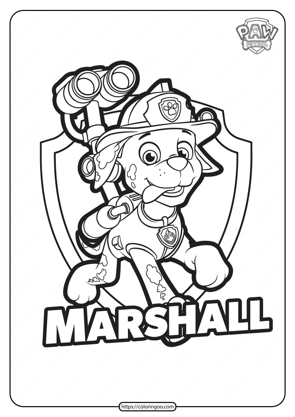 Free Printable Paw Patrol Marshall Coloring Pages 1 In 2021 Paw Patrol Coloring Pages Paw Patrol Coloring Marshall Paw Patrol [ 1344 x 950 Pixel ]