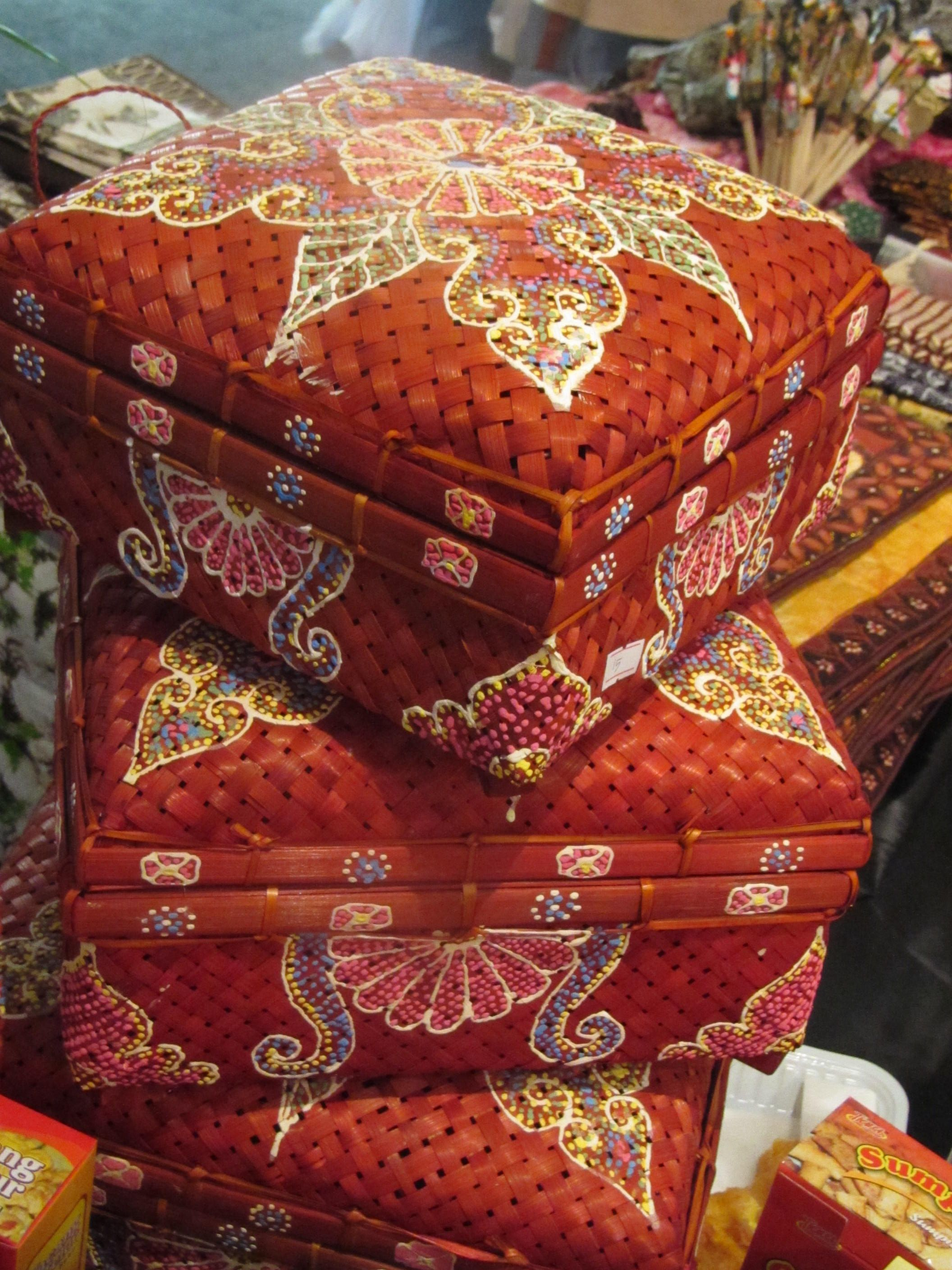 Beautiful Baskets From Indonesia