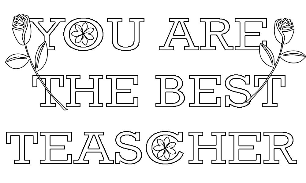 Teacher Appreciation Coloring Pages Happy Teachers Day Teacher Appreciation Week Teacher Appreciation