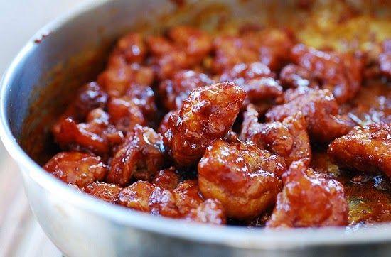 Dakgangjeong Sweet Crispy Korean Fried Chicken Korean Bapsang Recipe Crispy Chicken Korean Fried Chicken Recipes