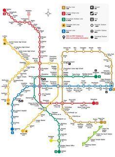 MRT (Taipei Mass Rapid Transportation): Taipei MRT Map