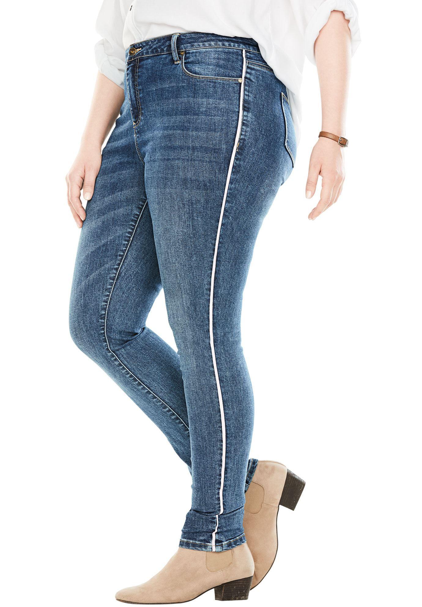 7ac7972c0d5 Skinny Super Stretch Jean - Women s Plus Size Clothing