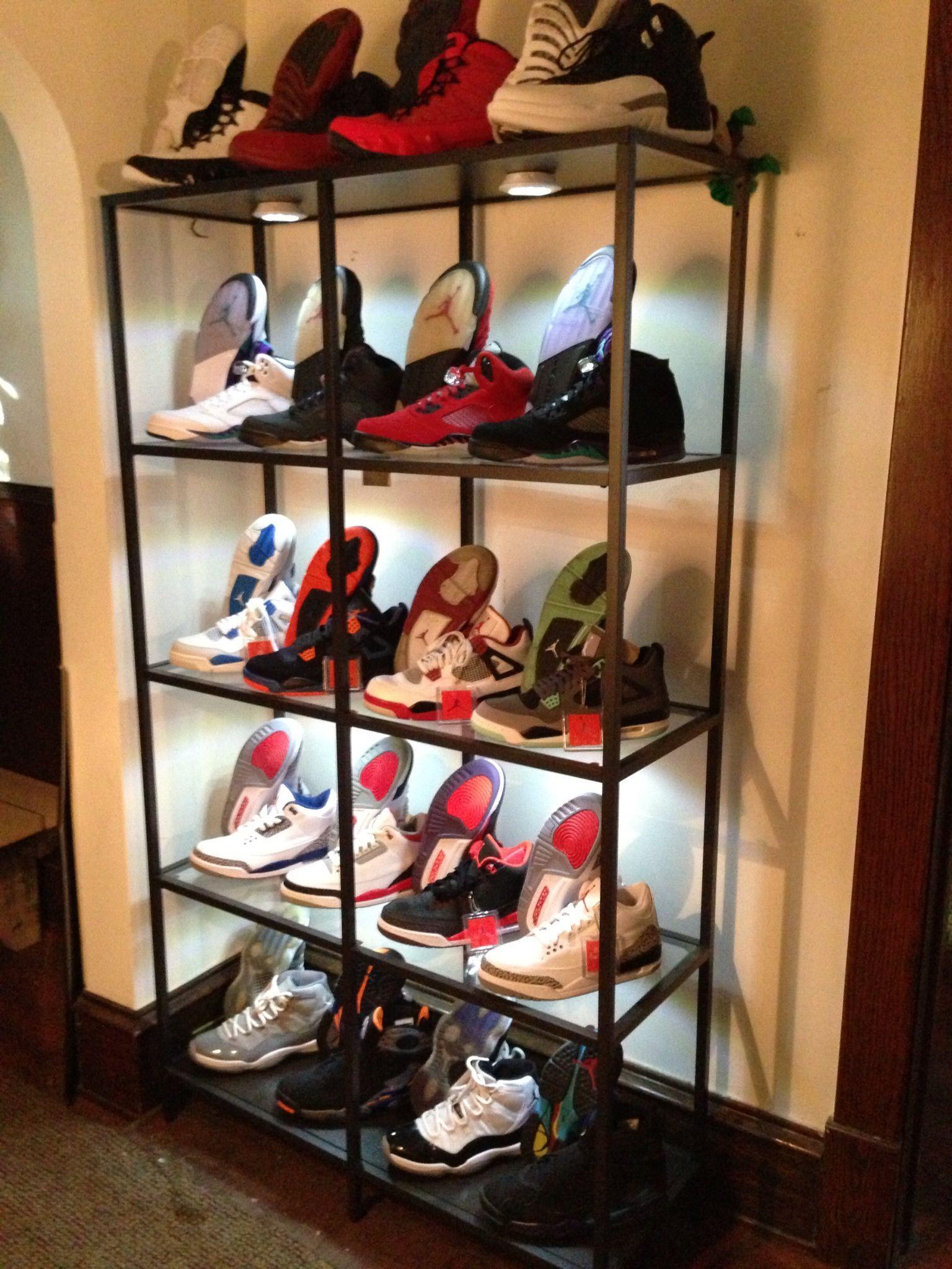 jordan shoes organizer