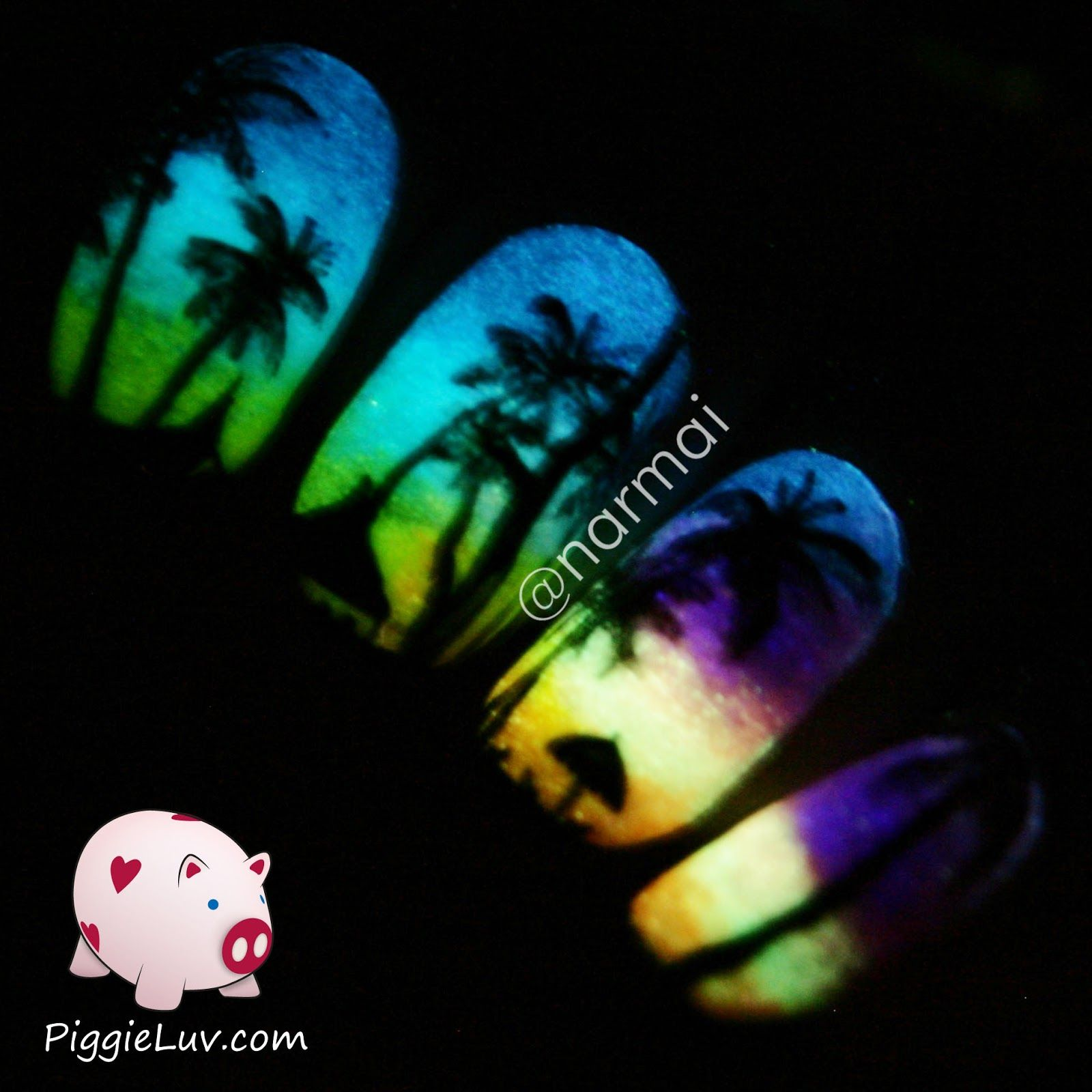 5 Tips For Taking Glow In The Dark Nail Photos Nails Pinterest