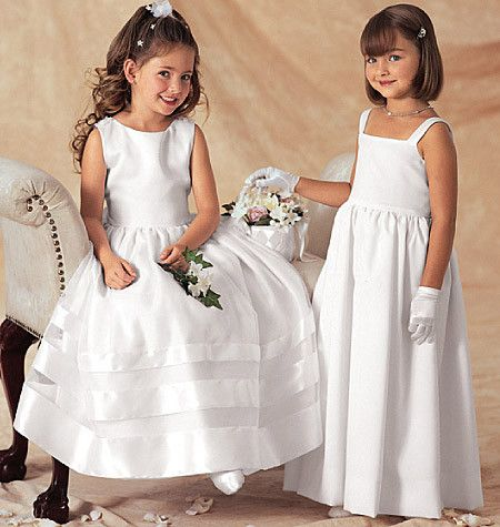 Butterick Pattern: B3351 Girls\' Jacket & Dress | Bridal | Easy ...