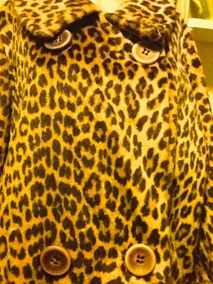 41c94abea402 VINTAGE KILIMANJARO Sidney Blumenthal Faux Fur Coat Leopard Animal Print by  ColletsVintage on Etsy