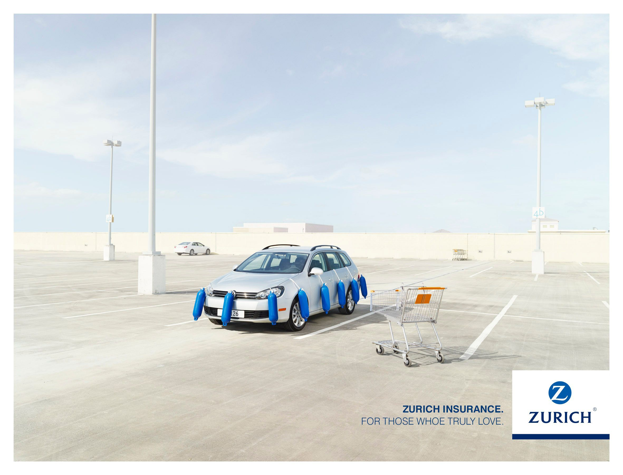 Adeevee Zurich Insurance Trolley Zurich Car Protection Ad