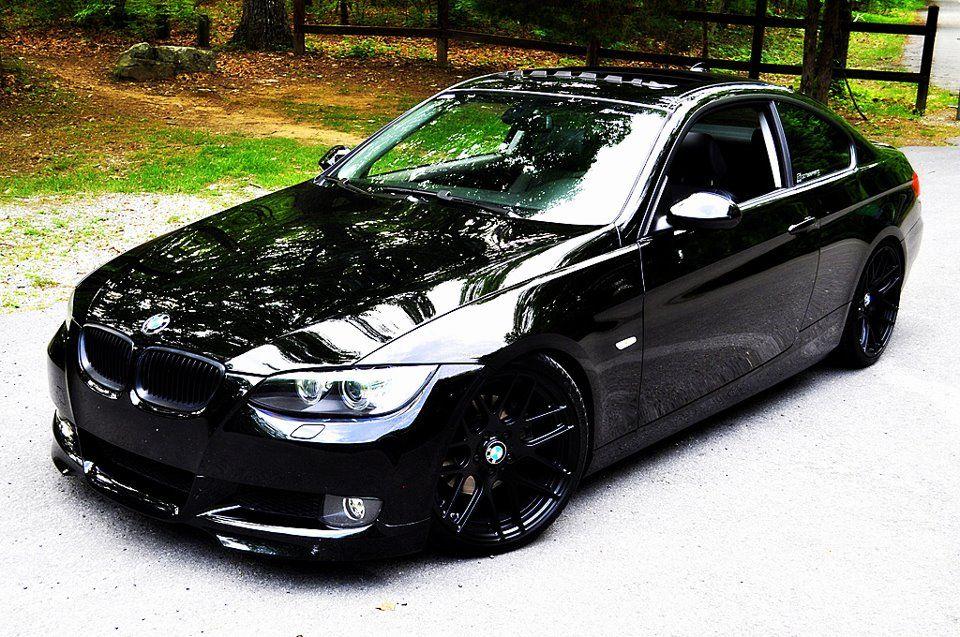 BMW E92 335i   Bmw, Bmw series, Black rims