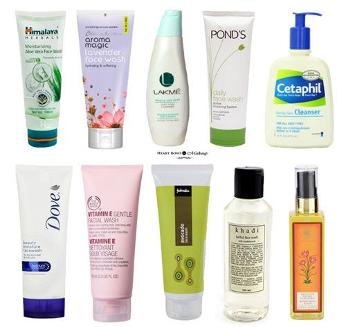 Best Face Wash For Dry Skin In India Our Top 10 Heart Bows Makeup Indian Makeup Beauty Blog Indi Best Face Products Best Face Wash Dry Skin Face Wash