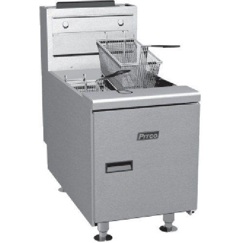Pitco Sgc 35 Lb Gas Countertop Fryer With Millivolt Controls