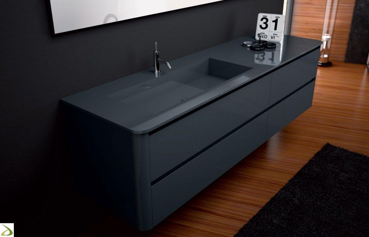 Arredo bagno sospeso di design | Bathroom | Pinterest | Interiors