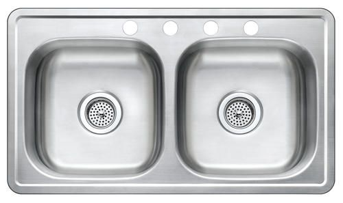 mobile home kitchen sink space saver design 7 stainless steel at menards
