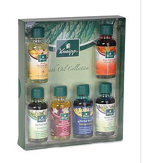 Kneipp Herbal Bath Oil Collection Kit 6 X 0 68 Oz Bath Oils