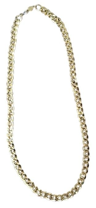 """NAPIER CHAIN - Goldtone   (FREE SHIPPING). Free shipping and guaranteed authenticity on NAPIER CHAIN - Goldtone   (FREE SHIPPING) at Tradesy. Stylish Goldtone Napier Chain is 24"""" long.  Marked..."""