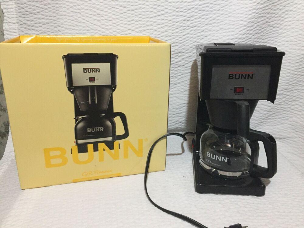Bunn 10 Cup Speed Brew Drip Coffee Maker Model Gr Bremer Black