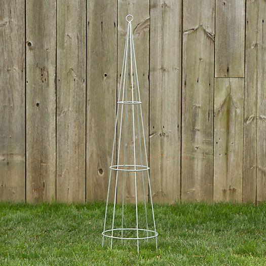 The Zinc Cone Trellis From Terrain Trellis Garden Trellis