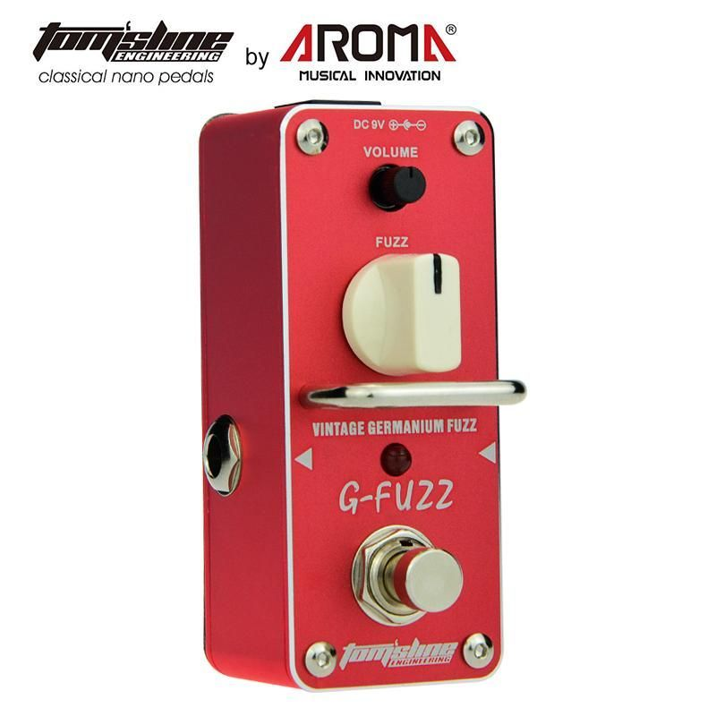 AROMA AGF-3 Guitar Pedal Fuzz Guitar Effect Pedal Vintage Germanium Mini Analogue True Bypass Guitar Parts & Accessories #guitarpedals AROMA AGF-3 Guitar Pedal Fuzz Guitar Effect Pedal Vintage Germanium Mini Analogue True Bypass Guitar Parts & Accessories #guitarpedals