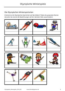 Olympische Winterspiele 2018 | Karteikarten, Klasse und Winterspiele