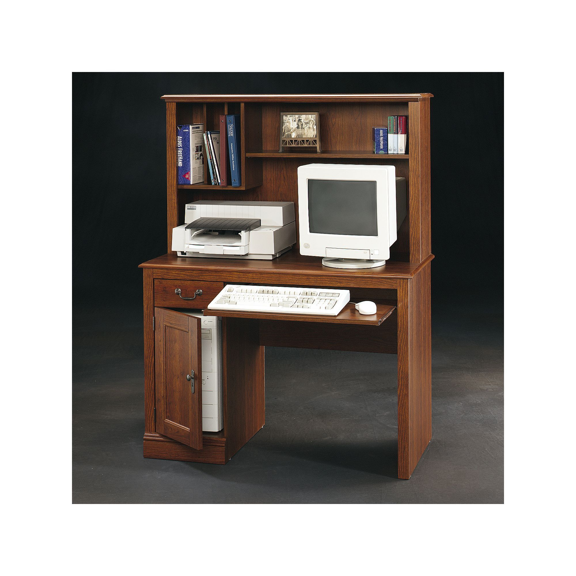 orchard hutch desk computer hills sauder with products