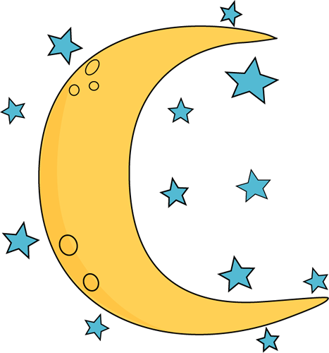 28++ Crescent moon and stars clipart info