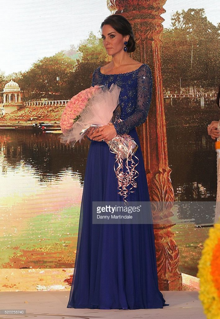Catherine, Duchess of Cambridge attends the Bollywood Charity Gala at the Taj…: