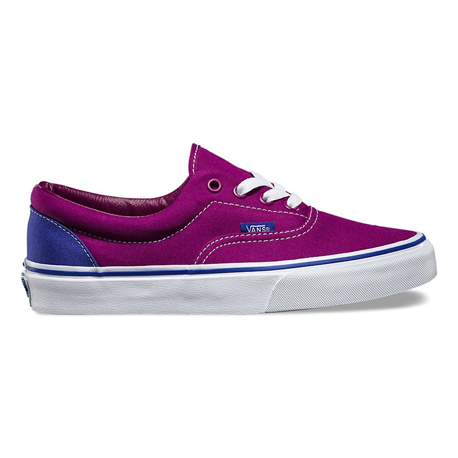 81a0bf42a2 Vans Era Heel Pop Skateboarding Shoe Magenta Purple Clematis Blue Size  3.5  Men   5 Women   Read more reviews of the product by visiting the link on  the ...