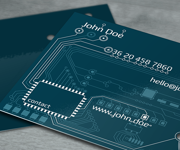 Pcb Design Logo And Business Card On Behance Corporate Business Card Business Cards Cards