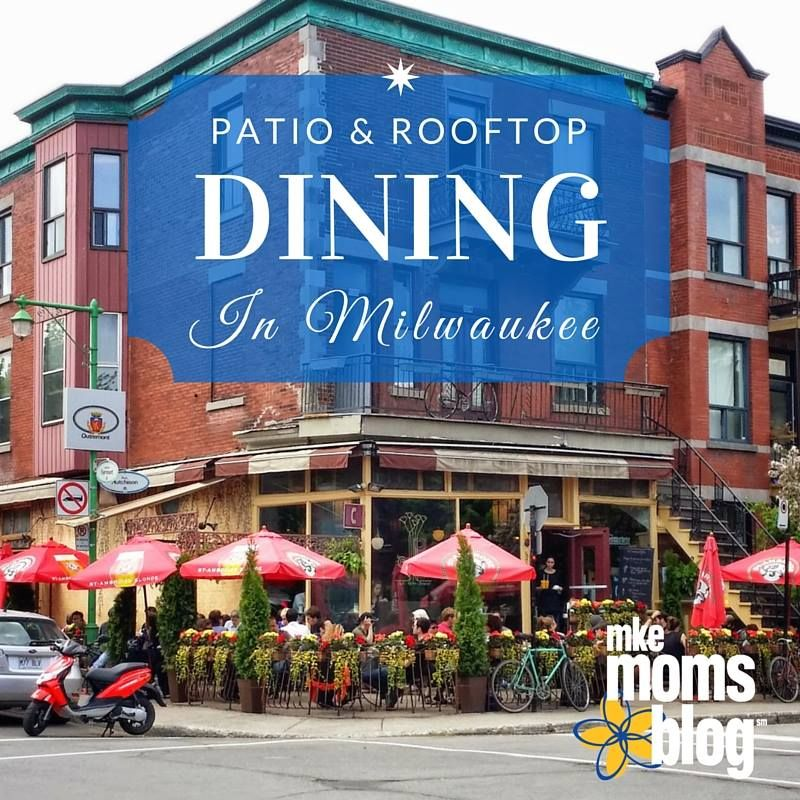 Marvelous Milwaukee Does Not Disappoint In The Patio/rooftop Dining Category. To  Share The Patio