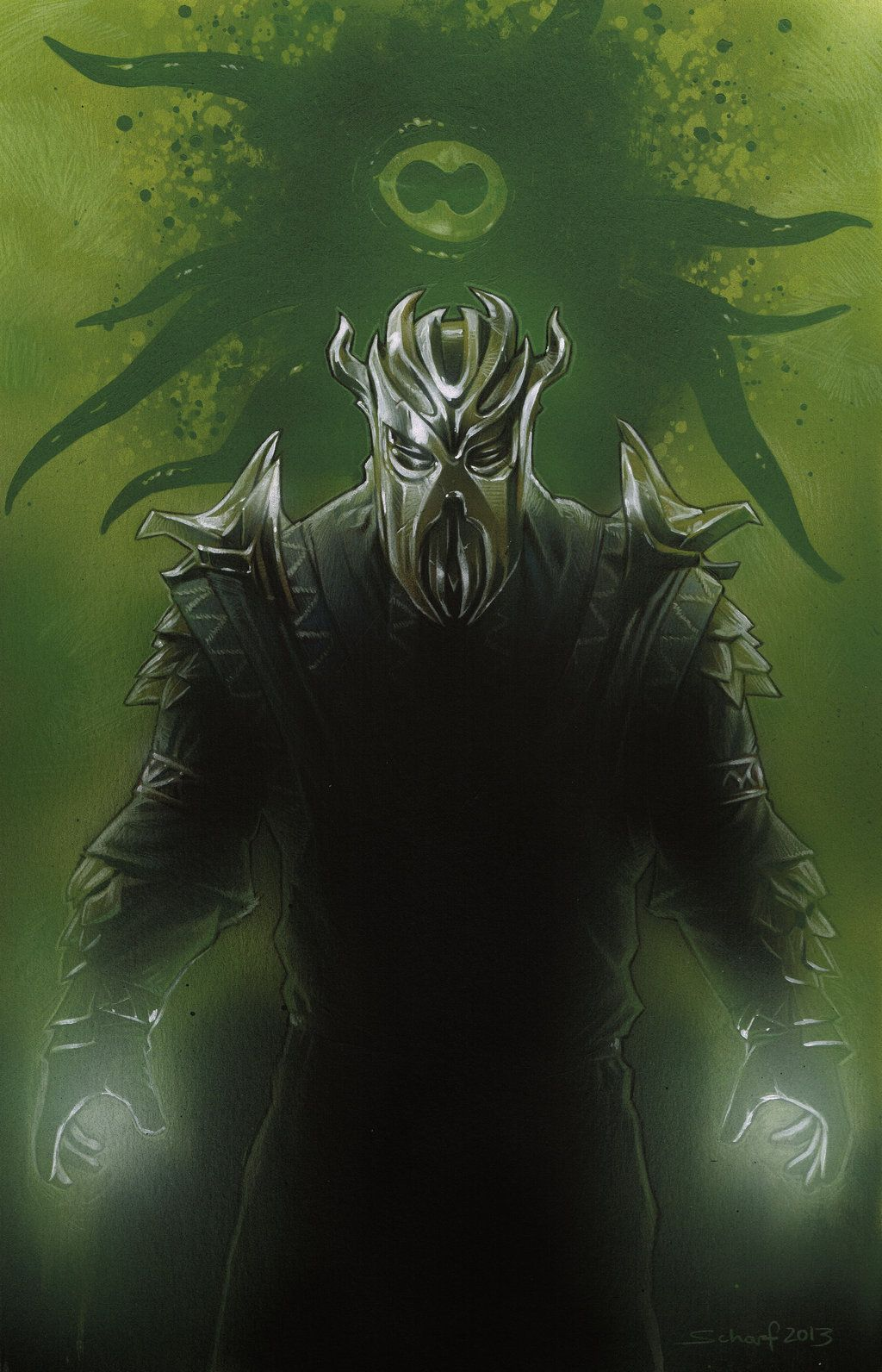 The first Dragonborn by jones4rt deviantart com - Miraak Dragonborn
