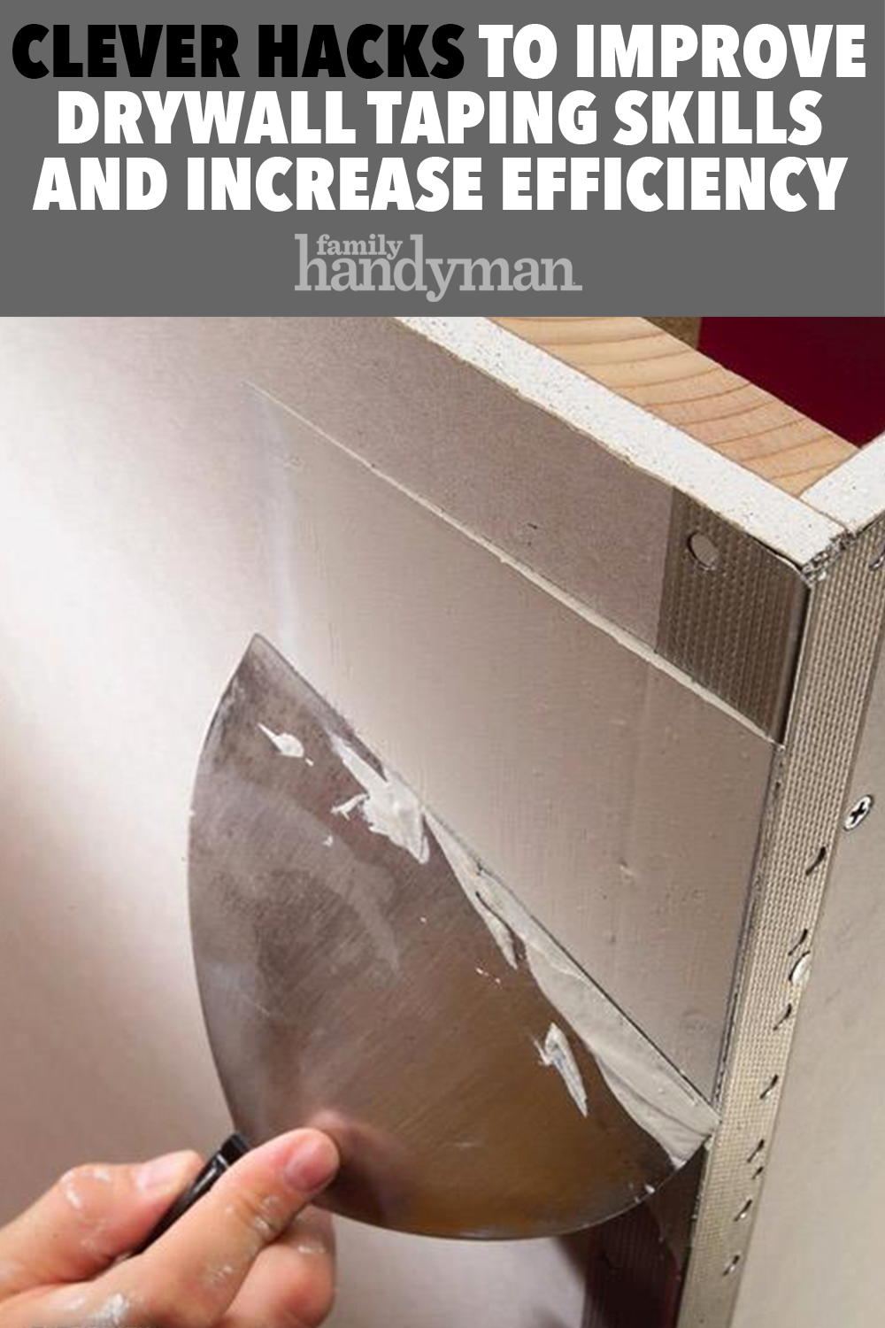 Taping Drywall Tips How To Tape Drywall Joints Diy Home Repair
