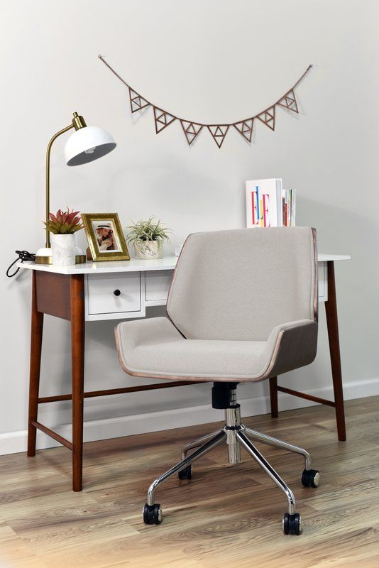 Magnificent Seeking Out Ophelia Bentwood Desk Chair By Elle Decor Ibusinesslaw Wood Chair Design Ideas Ibusinesslaworg