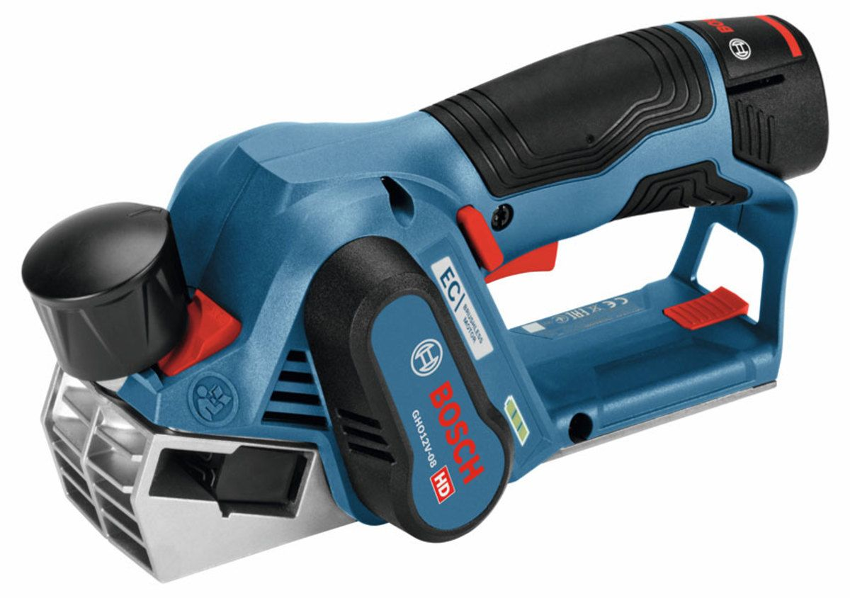 Bosch Adds Cordless Planer Bosch Presents A New 12 Volt Planer Model Gho12v 08 Designed For Easy Balanced Operation Bosch Tools Cordless Power Tools Bosch