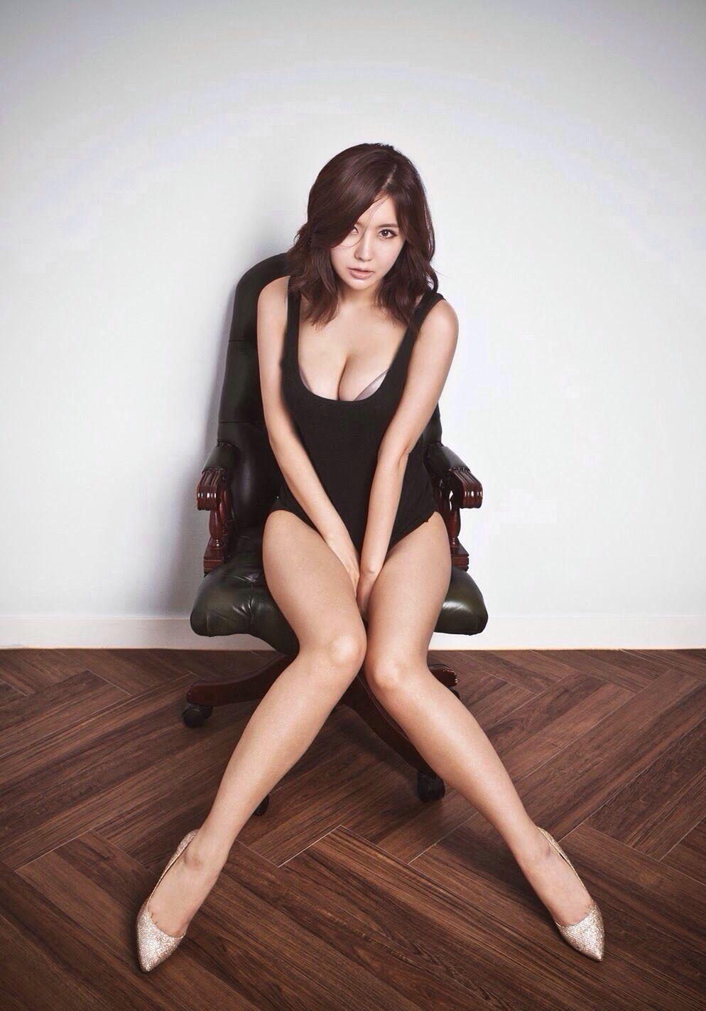 hand Asian between legs girls