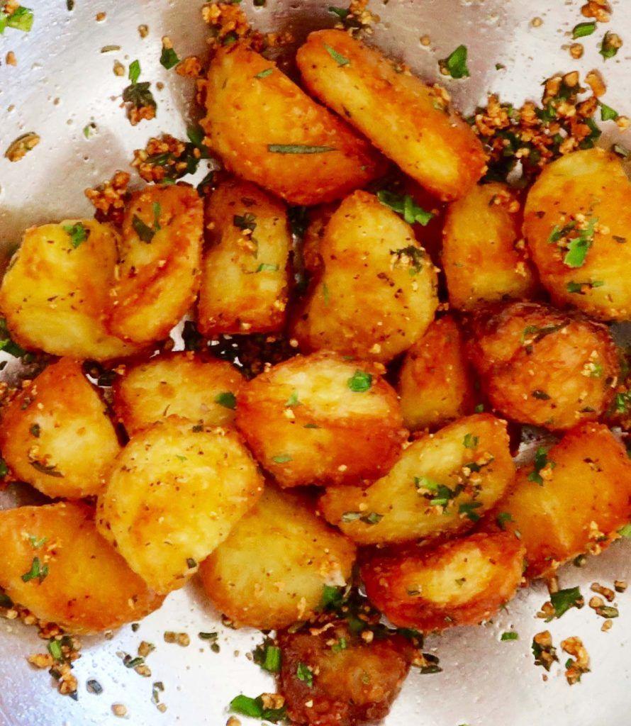Pin On Crispy Roasted Potatoes