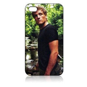 Josh Hutcherson Hard Case Skin for Iphone 4 4s Iphone4 At Sprint Verizon Retail Packing.