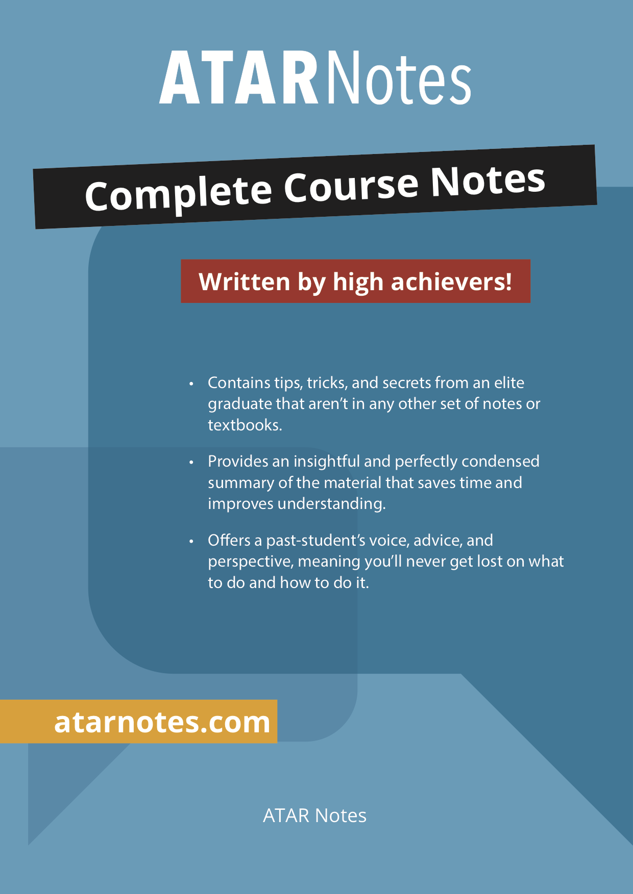 HSC Creative Writing for Discovery   ATAR Notes