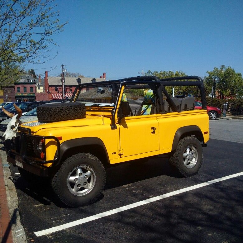 Land Rover Defender 90 Nas Edition V8 Convertible Spotted In