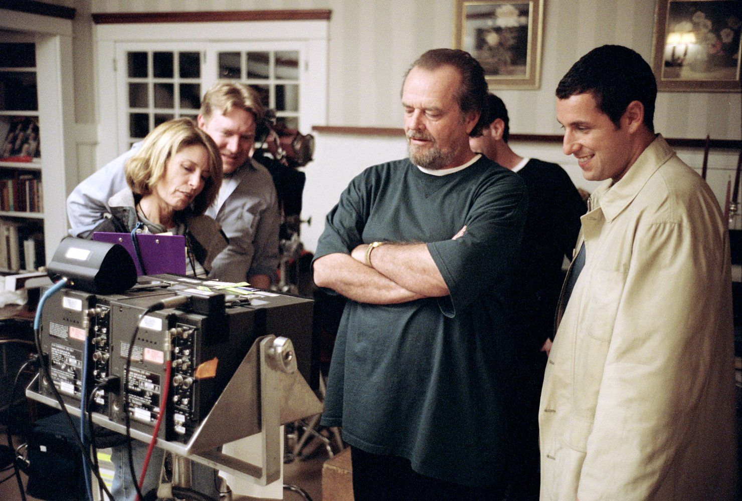 Jack Nicholson And Adam Sandler In Anger Management 2003 Adam Sandler Jack Nicholson Anger Management