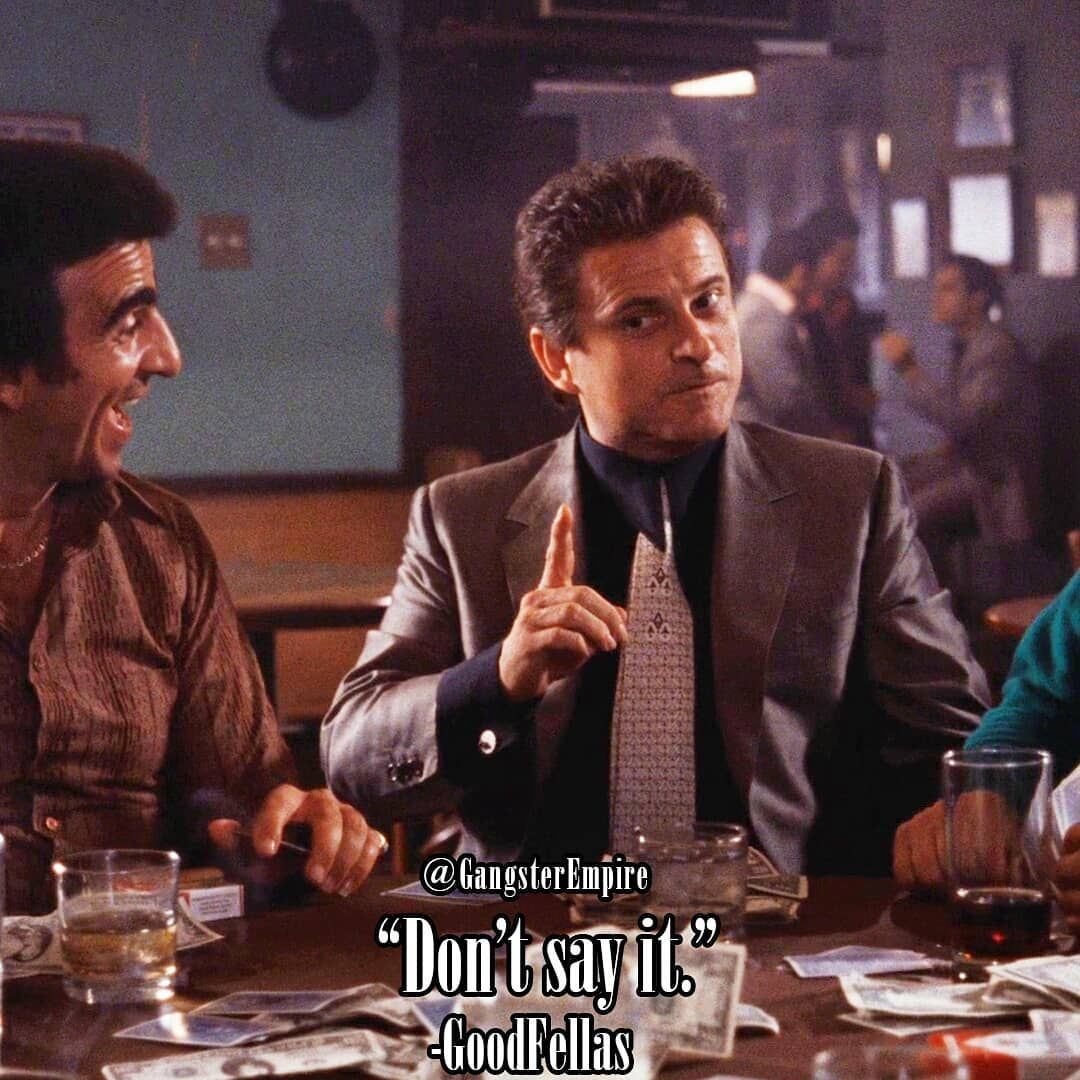 Don T Say What Joe Pesci Tommy Devito Frankie Carbone Frank