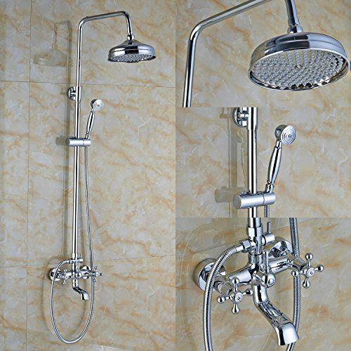 Votamuta Bathroom European Shower System Rainfall Shower ... https ...