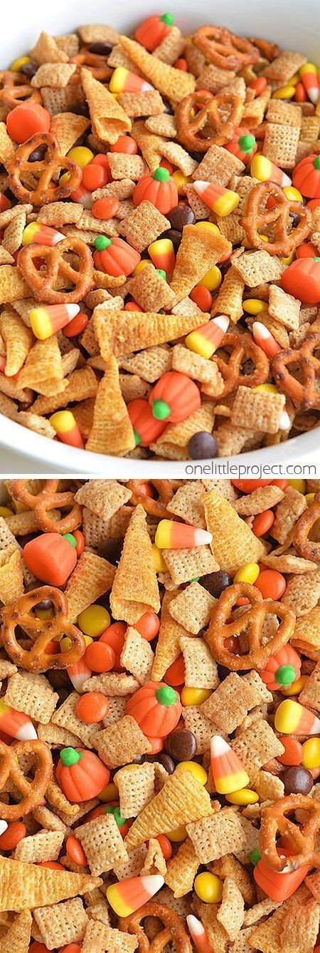 Halloween Harvest Hash Chex Mix Video Rezept