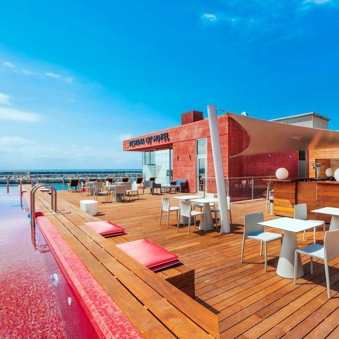 Inneneinrichtung Design Trends Hotel Ronaldo Balkon Möbel - inneneinrichtung