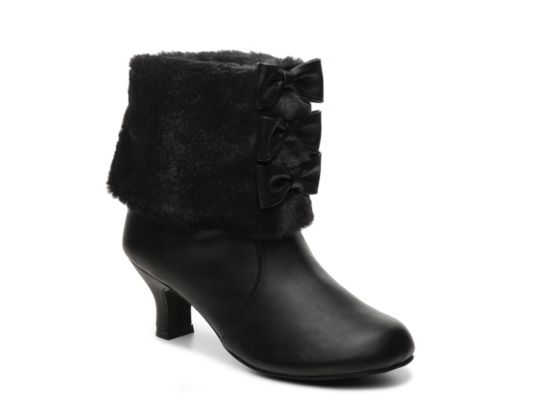 Women's Dolce by Mojo Moxy Precious Girls Toddler & Youth Boot - Black