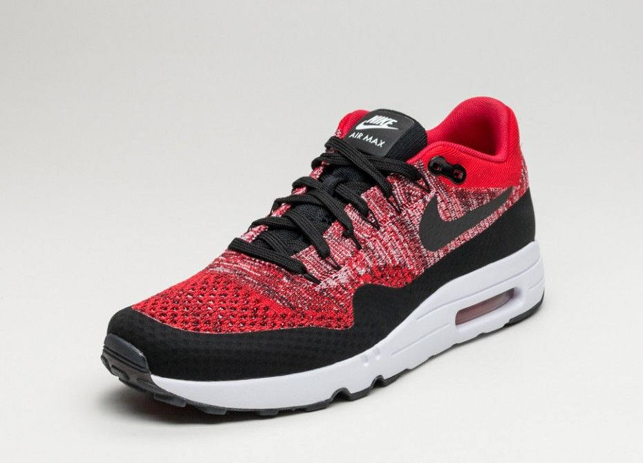 8fc635e446e06 NIKE AIR MAX 1 ULTRA 2.0 FLYKNIT (UNIVERSITY RED   BLACK - UNIVERSITY RED)