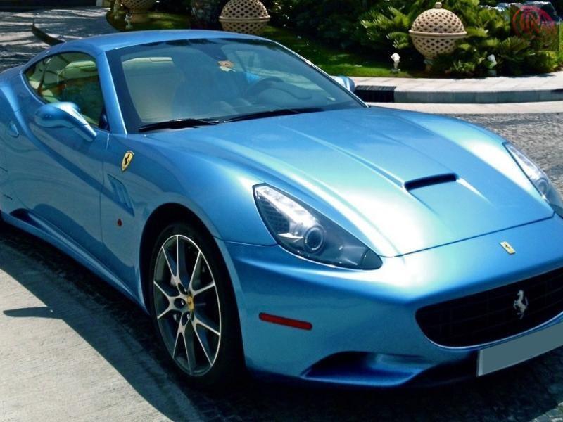 سياره فيراري بحاله ممتازه موديل 2010 Cars Car Bmw Car