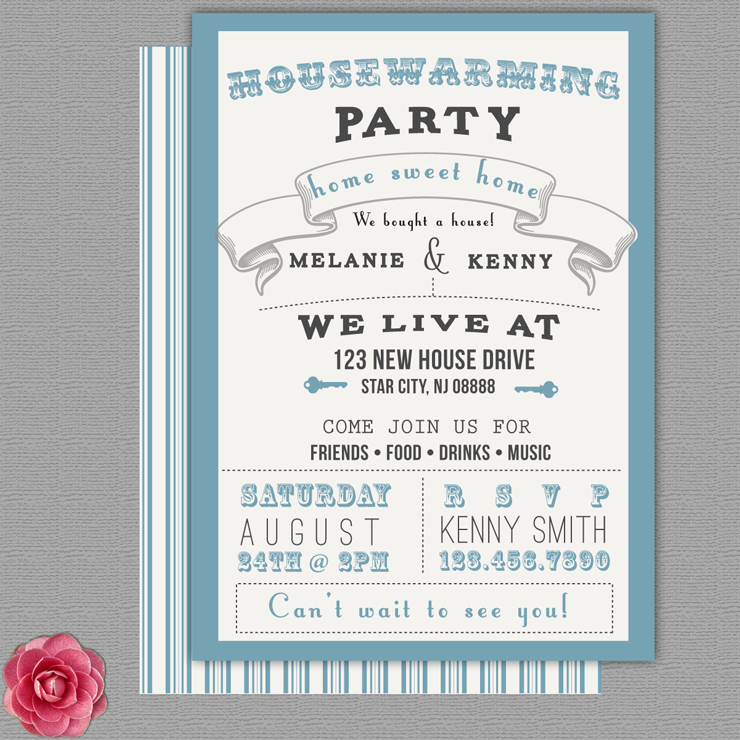 design my own party invitations
