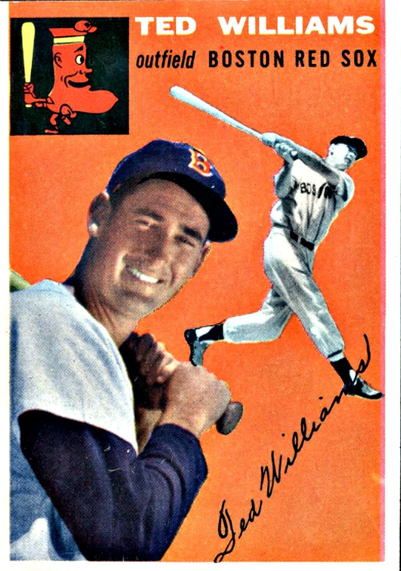 1 ted williams boston red sox with images baseball