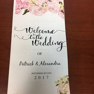 Wedding Poster Template Printable Instant