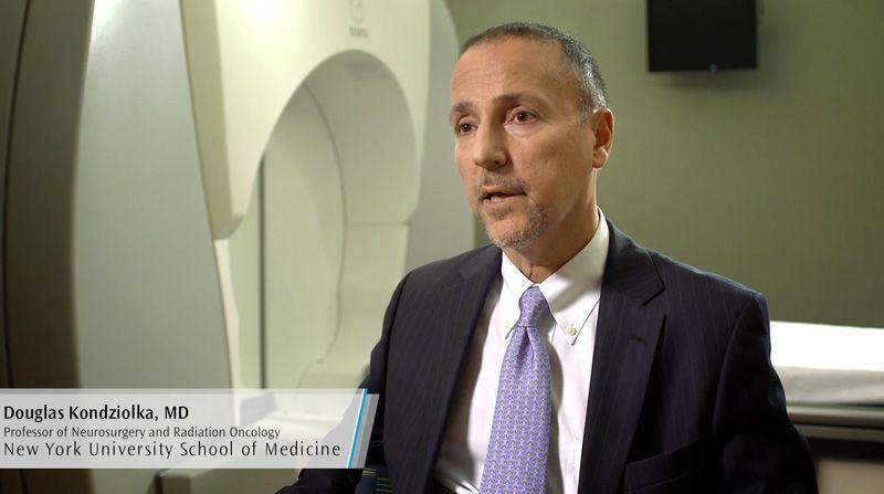 Hear Douglas Kondziolka, MD, Professor of Neurosurgery and Radiation