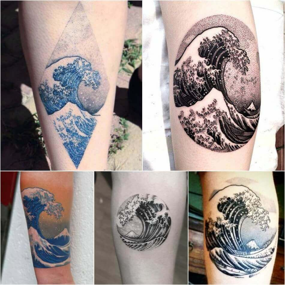 Painting Tattoo Ideas Tattoos For Art Lovers Inspired By Paintings And Works Of Art Painting Tattoo Japanese Tattoo Japanese Tattoo Designs